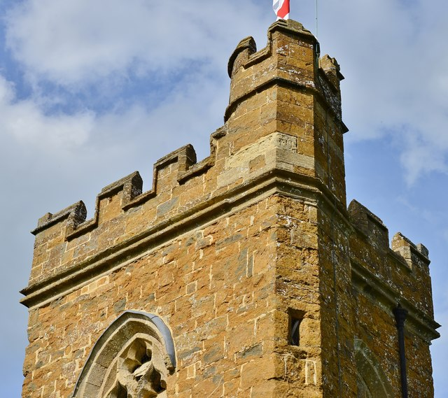 Hanwell, St. Peter's Church: Tower detail