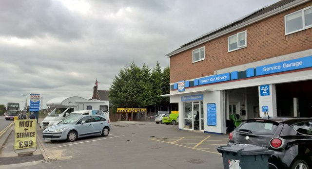Motor services, Marshland Road, Moorends, Thorne