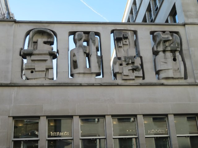 Henry Moore screen - Time & Life Building