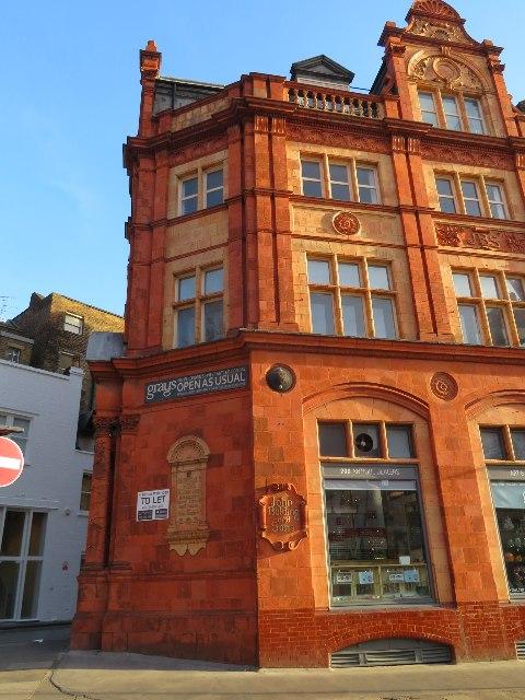 John Bolding and Sons building - Davies Street