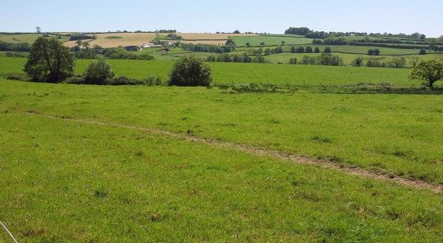 Farmland near Broadleaze Farm