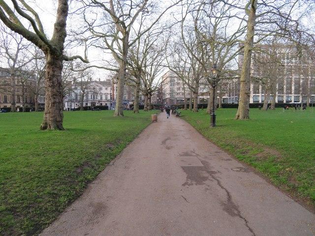 Green Park in winter