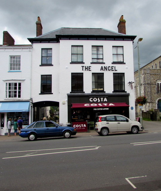 Costa in the former Angel, Honiton