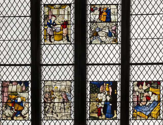 Lady chapel window, Exeter Cathedral