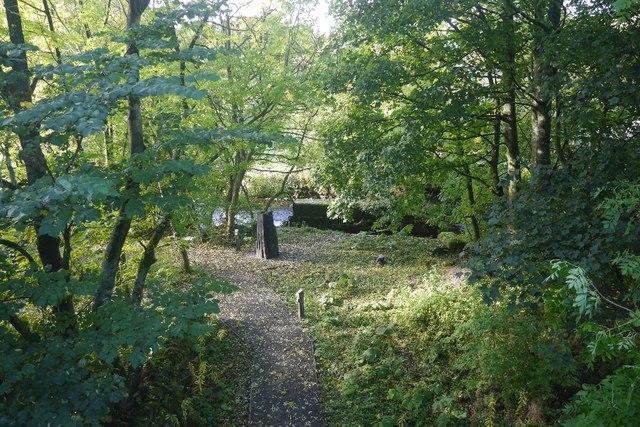 Railway trackbed, Hawes