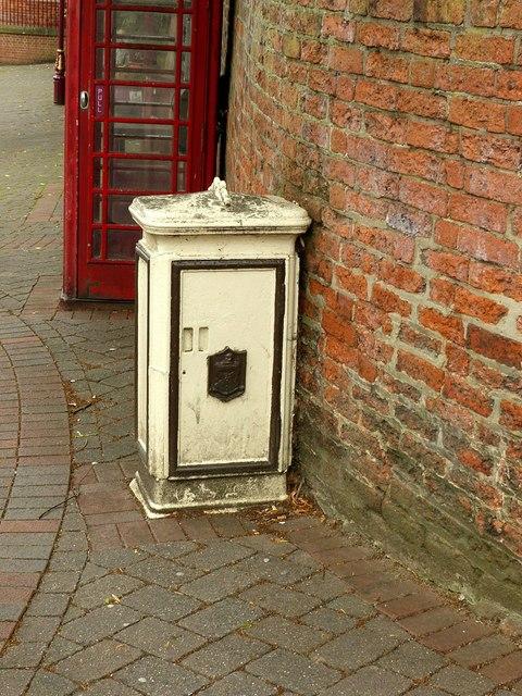 Tramway feeder box, Market Place