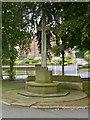 SK4641 : War Memorial, Park Cemetery, Ilkeston by Alan Murray-Rust