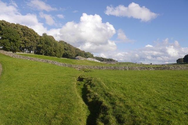Hawes to Sedbusk path