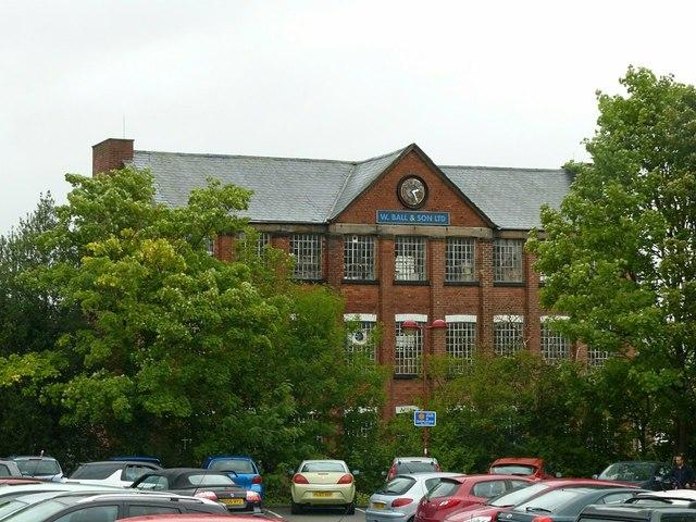 W Ball and Son Ltd factory, Ilkeston