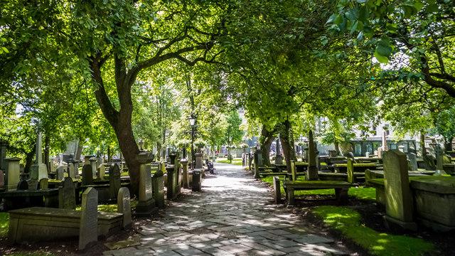 Churchyard at St.Nicholas
