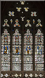 SX9292 : Clerestory window, Exeter Cathedral by Julian P Guffogg