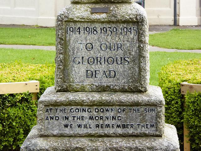 War Memorial Plinth, Eastleigh