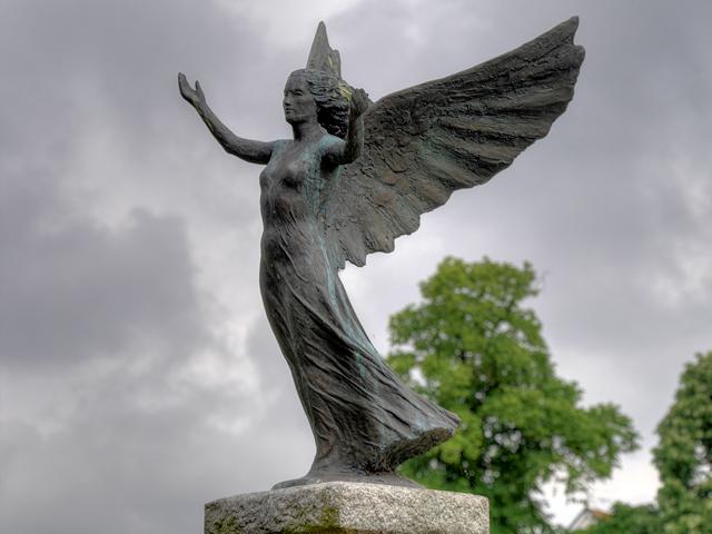 Angel of Mons, Eastleigh War Memorial
