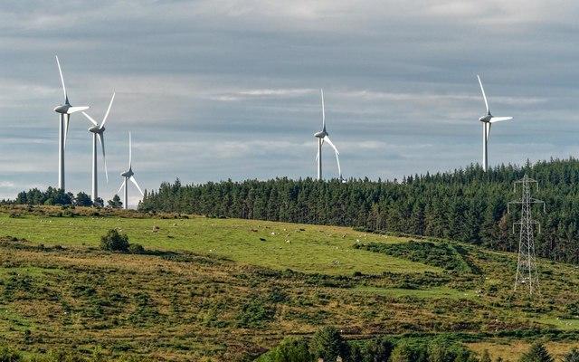 Glaschyle wind farm