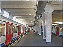 TQ0584 : Uxbridge tube station - interior by Mike Quinn
