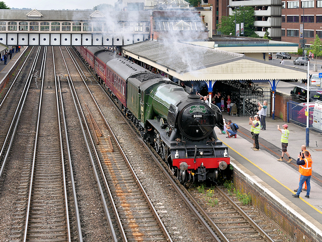 The Cathedrals Express at Eastleigh