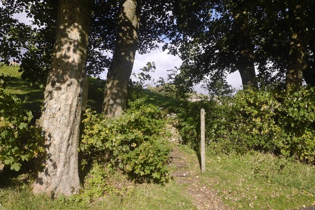 Steps to a stile