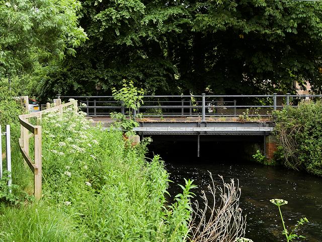 Bishopstoke Road Bridge over the River Itchen