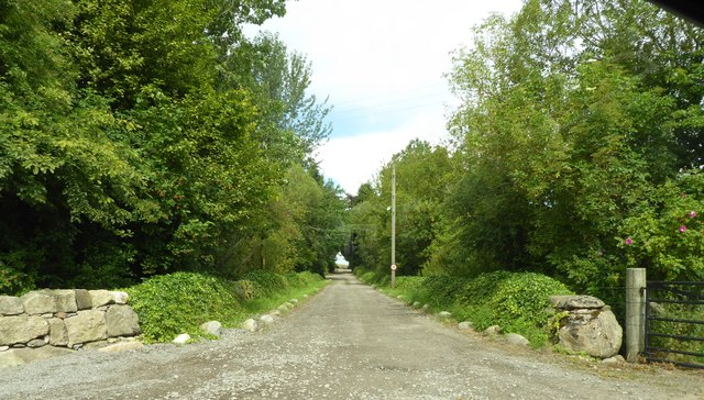 Avenue driveway to Newhall