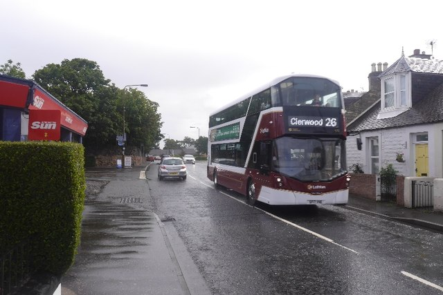 New bus, Cockenzie