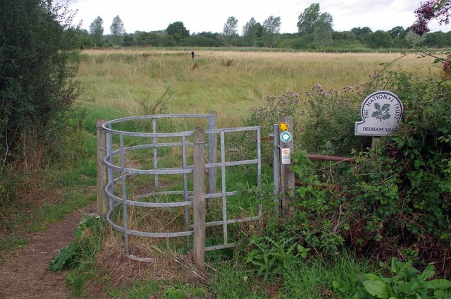 Kissing Gate to Dedham Vale