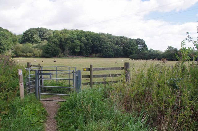 Kissing Gate on the Stour Valley Path