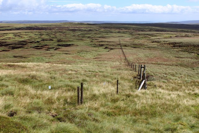 Lonely Moorland on the Eastern Flanks of Lonely Seat