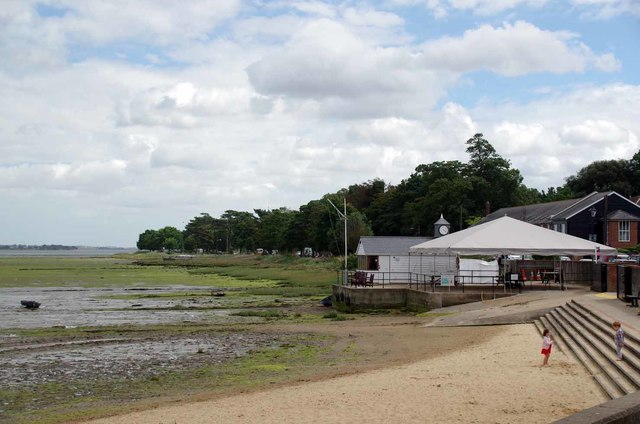 Beach by the Stour