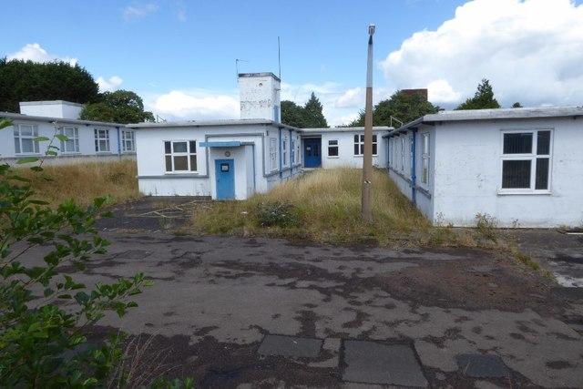 Disused QinetiQ buildings