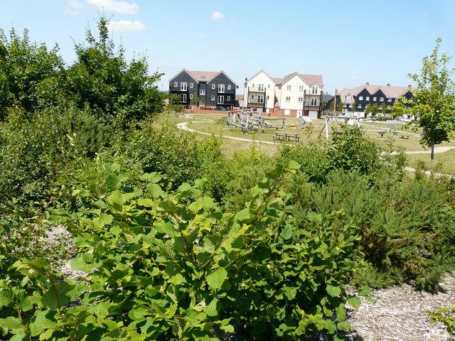 Children's playground, Bridgefield housing estate