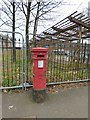 SJ8594 : Edward VII Postbox (M14 256) by Gerald England