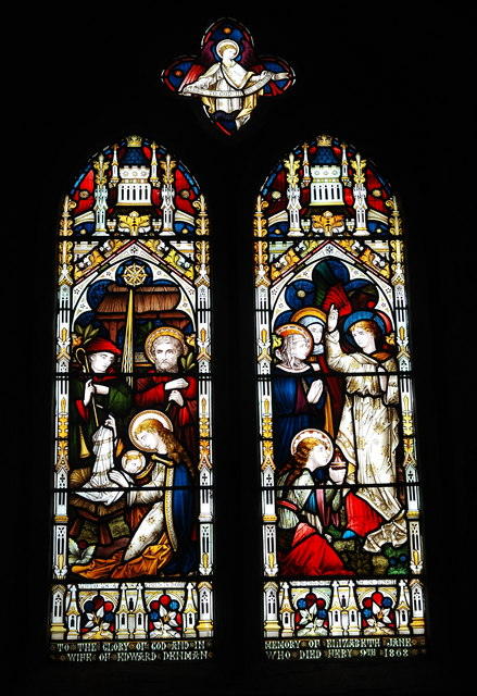East window, All Saints' Church, Lopen