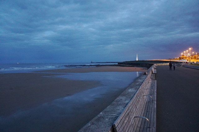 The seafront at Seaburn