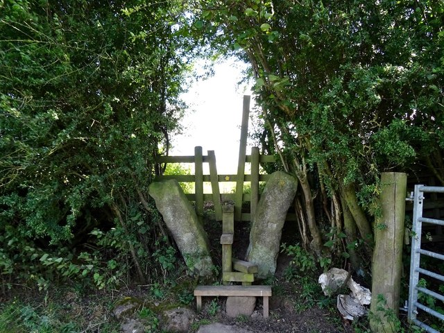 Stile on the Ecclesbourne Way