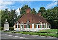 SU9973 : Lodge, Runnymede Meadows by Julian Osley