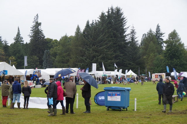 The display ring at Moy Game Fair