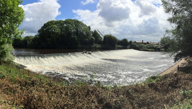 Weir on the River Severn