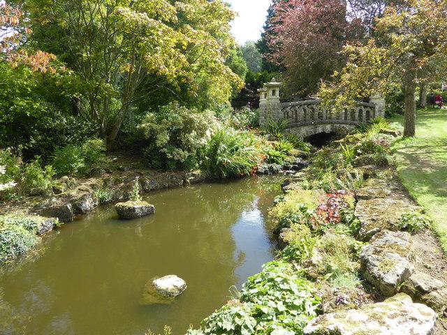 Part of the Rock Garden at Mount Ephraim
