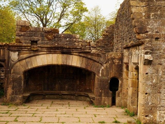 Remains Wycollar Hall