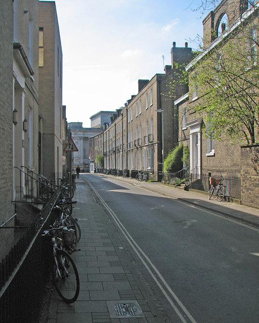 Along Fitzwilliam Street