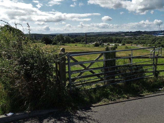 A view of Bleach Croft Farm