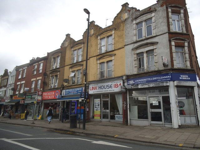 Shops on West Hendon Broadway