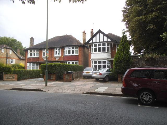Houses on Kew Road, Richmond