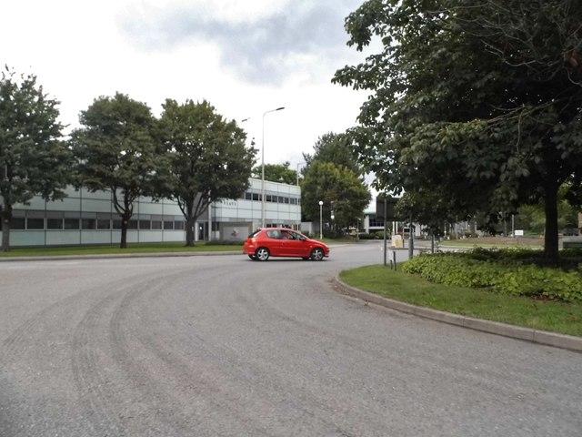 Roundabout on London Road, Newbury