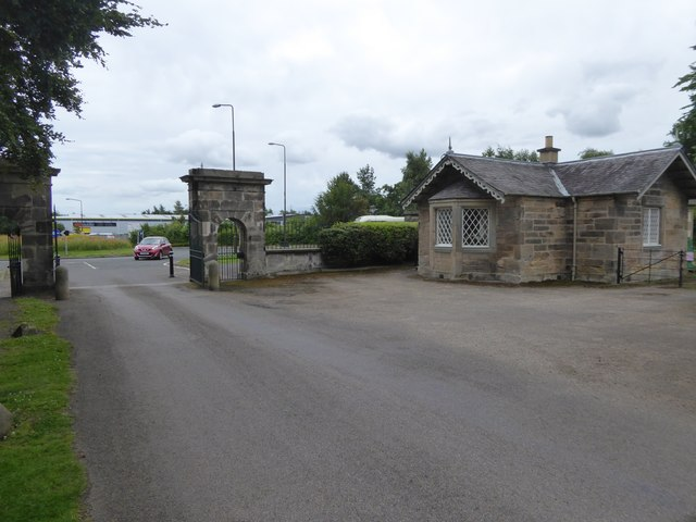 Lodge of Newhailes House