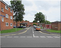 SO8554 : Wellington Close, Worcester by Jaggery
