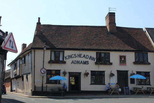 Kings Head Inn, 17 Market Hill, Woodbridge