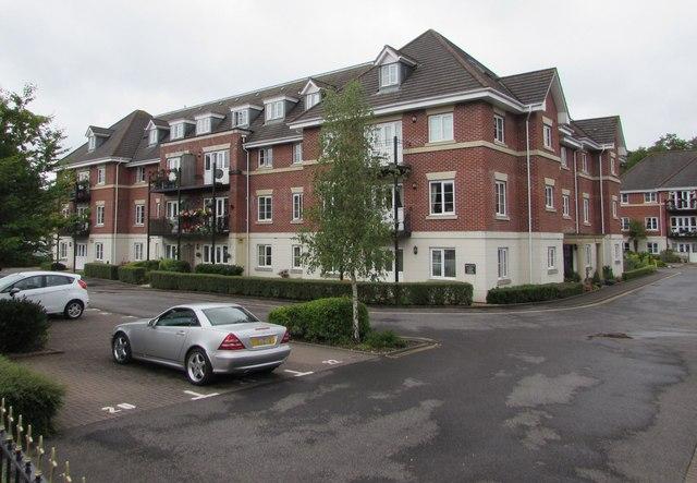 Modern flats, Chandler's Ford