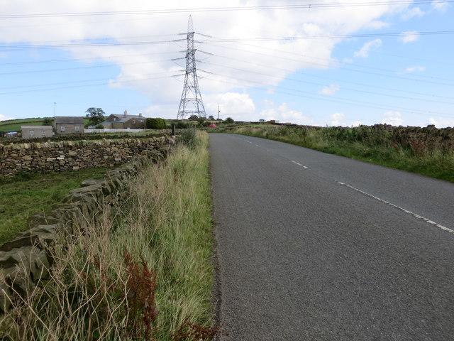 Old Allen Road near Little Moor Top