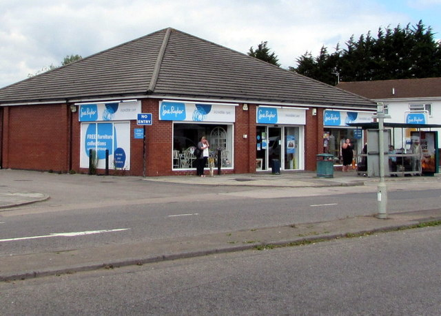 Sue Ryder charity shop, Rumney, Cardiff